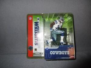 Mcfarlane Sports Picks 2004 Roy Williams Cowboys Variant White Jersey Series 10*