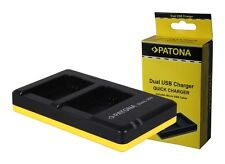 Patona Dual-, Doppel-Ladegerät für Nikon D3400,  D5600 - EN-EL14