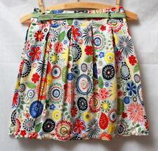 Jupe courte multicolore Poème 10 ans