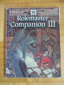 Rolemaster Companion III – I.C.E 1700 - Roleplaying game Rollenspiel Buch rpg