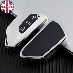 Remote Smart Key Case Key Fob Holder Cover For VW Volkswagen Golf 8 Mk8 2020