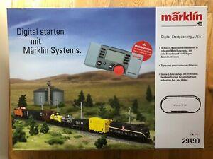 Marklin HO 29490 Pennsylvania Railroad GG-1 Freight Starter Set - New
