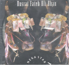 Mega Star by Nusrat Fateh Ali Khan (CD, 1996 Interra) Previously Unreleased/NEW