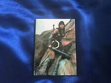 "VERY RARE LARGE OFFICIAL Xena Magnet - Xena Holding Her Sword From ""Prometheus"""