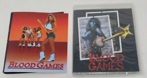 Blood Games Vinegar Syndrome Blu-ray Sealed