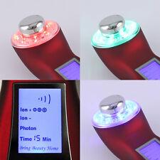 Forever25 Ultraschall Gerät mit Ion Photon Falten Anti Aging Akne Kinn 3 MHz