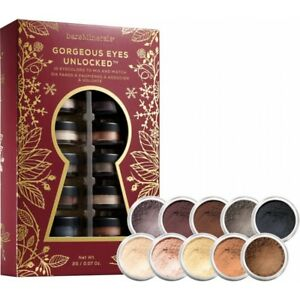 bareMinerals GORGEOUS EYES UNLOCKED 10 Eye Color Set 0.28g 0.01oz W1734