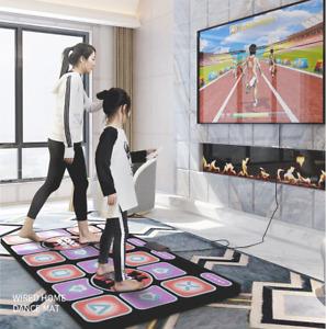 Double User Dance Mats Non-Slip Dancers Step Pads Sense Game Yoga Game Blanket