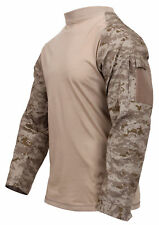 Tactical Airsoft Combat Long Sleeve Lightweight Shirt Rothco, Large