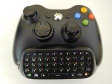 Microsoft Xbox 360 Wireless Controller with Black Chatpad Keypad OEM Original