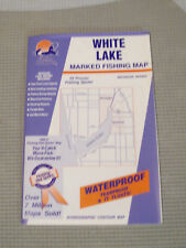 NEW FISHING HOTSPOTS MAP M315 WHITE LAKE MICHIGAN WATERPROOF TEARPROOF BD9