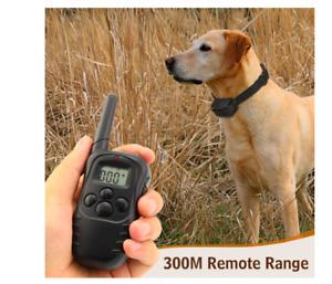 Collar de Entrenamiento para Perros, Mascota. Recargable LCD Choque Eléctrico.