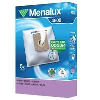 Menalux 4600 sacs d'aspirateur 5 +1 Filtre Duraflow Poussière 9001961391