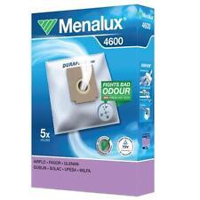 Menalux 4600 Sacs d'Aspirateur 5 Sacs + 1 Filtre Duraflow Poussière Sacs 9001961391