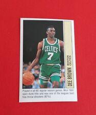 1991/92 Panini Basketball Dee Brown Sticker #180***Boston Celtics***