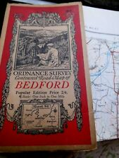 BEDFORD: CLASSIC ORDNANCE MAP 1919-35 SERIES 4:FAMOUS ELLIS MARTIN PICTURE COVER