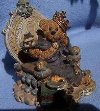 KING OF DIETING cake BOYDS BEAR figurine PRINCE HAMALOT diet desserts MINT