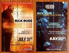 RICK ROSS God Forgives I Don't | Teflon Don Posters Lot +FREE Hip/Hop Rap Poster