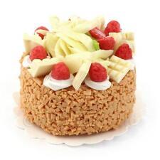 Miniature Chocolat Blanc Gâteau Aux Fraises