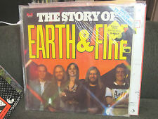 EARTH & and FIRE The Story of Dutch TV lp SEALED holland prog vinyl import rare!