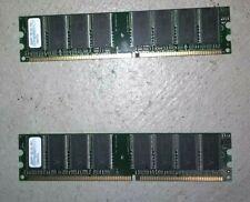 SimpleTech 512MB PC3200 DDR 400 RAM Pair