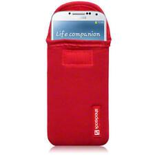Étuis, housses et coques rouges en néoprène pour téléphone mobile et assistant personnel (PDA) Samsung
