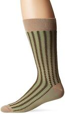 J.M. Dickens Mens Dress Socks 10-13 Pima Cotton Vertical Diamond Line Fashion