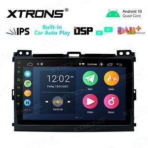 DSP Android 10 Car NON DVD Player Stereo Radio GPS For Toyota Land Cruiser Prado