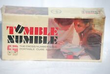 1969 Tumble Numble Cross Number Dice Game Unopened