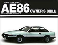 TOYOTA LEVIN & TRUENO AE86 tuning book 4AG owner's Bible