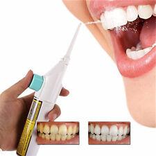 Oral Irrigator Dental Water Jet Floss Pick Teeth Cleaning Flusher Air Powered