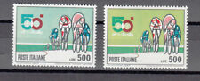ITALIA VARIETA' 1967 LIRE 500  CICLISMO  COLORE VERDE SMERALDO + CAMPIONE VEDI