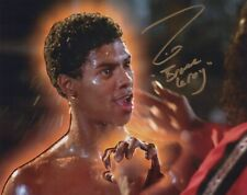 THE LAST DRAGON 8x10 movie photo signed by actor Taimak