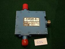 Arra Tnc3844-20 Variable Attenuator 1.5-2.0 Ghz 20dB range Tnc Connectors - Used