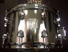 "SJC Custom Drums 14x8"" Limited Edition Nickel Over Steel Snare Drum"