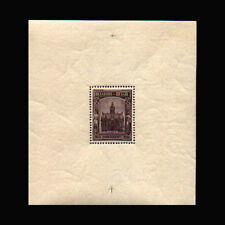 Belgium, Sc #B178, MH, 1936, S/S, Town Hall, Borgerhout, CL134F