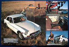 Prospekt brochure 1974 MGB  MGB GT  (USA)