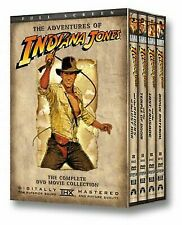 The Adventures of Indiana Jones - DVD Box Set - Harrison Ford - BRAND NEW SEALED