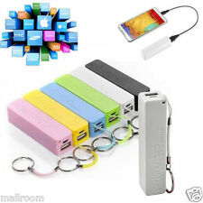 Powerbank Akku Extern 18650 USB charger Universal Smartphone Power Bank 6Color