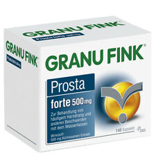 GRANU FINK PROSTA FORTE Hartkapseln 140 St 500 PZN:10011938