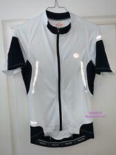 Maillot cycliste Pearl Izumi Elite manches courtes blanc noir Taille S (vélo)