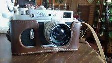 Beautiful, Russian Zorki-4 Camera, with Leather Case, VERY NICE!
