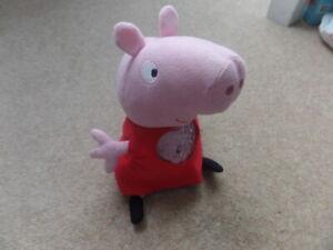 Peppa Pig Lullaby Plush Nightlight Sleep Song Lights Rare Toy