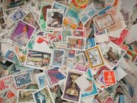 5000 World Stamps off Paper free shipping./////////////