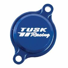 Tusk Aluminum Oil Filter Cover Blue Anodized YAMAHA YZ450F YZ450FX 2010-2017
