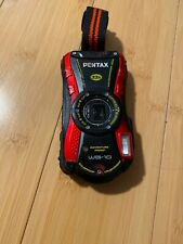 PENTAX Pentax Optio WG-2 16.0MP Digital Camera - Red NOT TESTED OK CONDITION