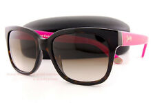 Brand New Juicy Couture Sunglasses 570/S 086 Y6 Dark Havana Pink/Brown Gradient