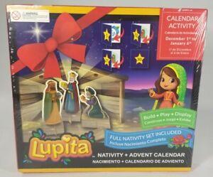 Bilingual Advent Calendar Nativity Lupita Calendario de Adviento Lupita NEW