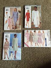 4 WOMAN' SEWING PATTERNS Sizes 6,8,10 Jacket,dress,skirt (AV2)