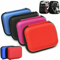 """2.5"""" USB External Cable Hard Drive Disk HDD Cover Pouch Bag Carry Case for PC"""